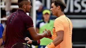 Nadal and Kyrgios