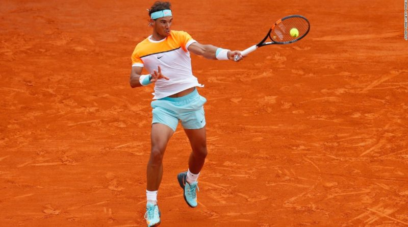 Rafael Nadal dominated with his forehand