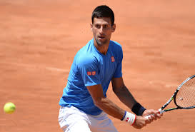 Novak Djokovic on Clay