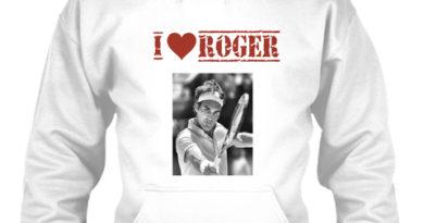 "Celebrating Roger Federer's artistry with the ""Federer-hoodie."""